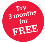 Try 3 months for FREE
